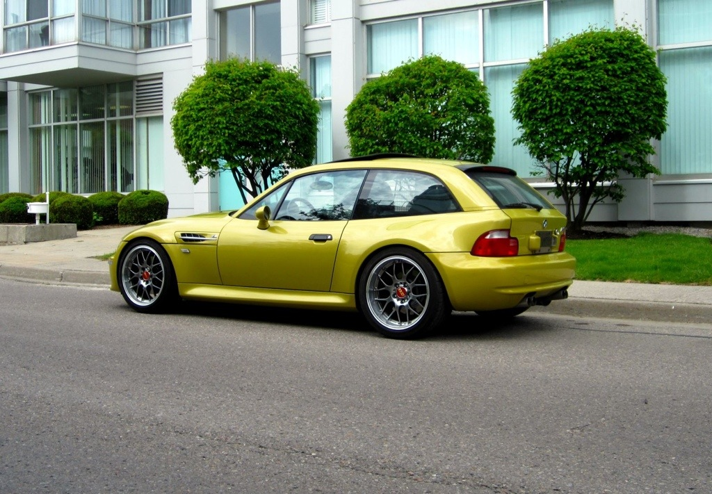 2002 M Coupe Phoenix Yellow Black Coupe Cartelcoupe