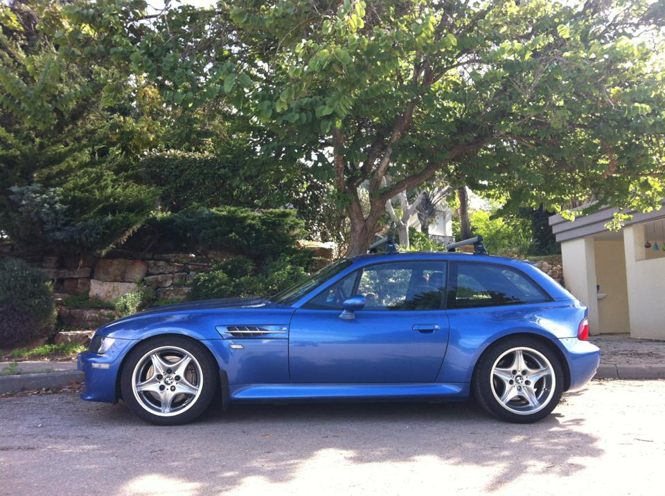2000 M Coupe Estoril Blue Estoril Black Coupe