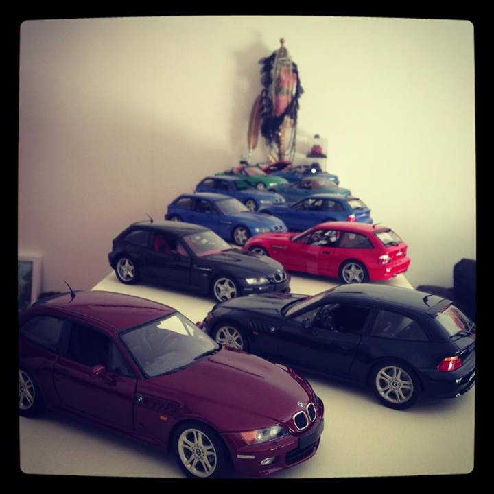 Sasha's Scale Coupe Collection (8)