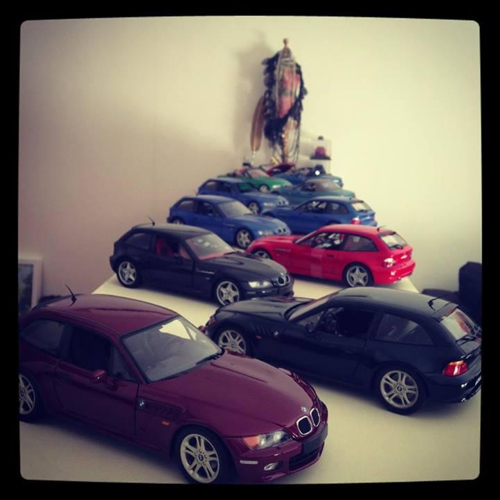 Sasha's Scale Coupe Collection (8)