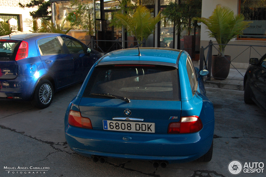 Laguna Seca Blue M Coupe Spotted in Spain