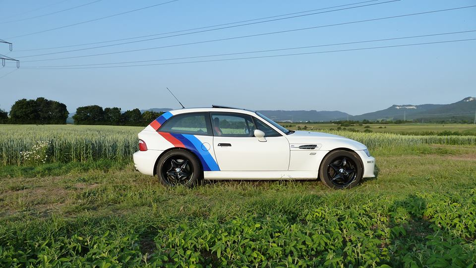 M Coupe Vinyl M Stripes