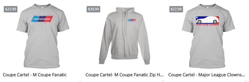 Coupe Cartel Store Nov-Dec 2015